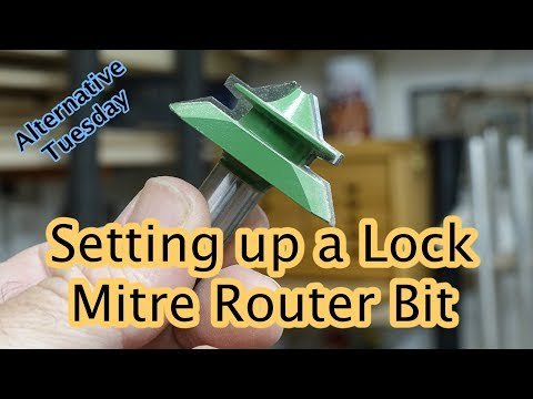 Lock Mitre Router Bits
