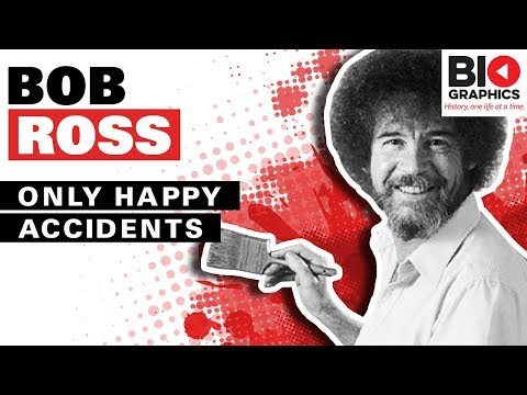Bob Ross: Only Happy Accidents (Bob Ross Biography)
