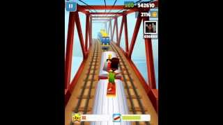 subway surfers Ipad 3 gameplay (Fresh)