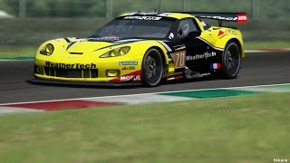Assetto Corsa Corvette C6R 2013 Gameplay