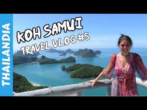 Ang Thong National Marine Park - Koh Samui - Vacanza in Thailandia 2017 - Travel Vlog #5 🇹🇭