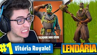 I BOUGHT THE LEGENDARY SKY HUNTER SKIN AND KILLED GENERAL! Fortnite: Battle Royale