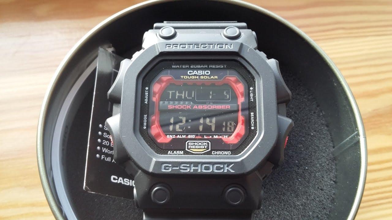 Casio G-Shock GXW 56 1AJF - The King - YouTube