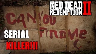 Red Dead Redemption 2 - O ENIGMA DO SERIAL KILLER