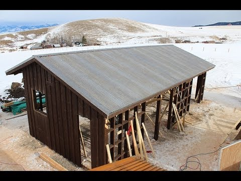 Building a Custom Horse Barn in Bozeman, Montana