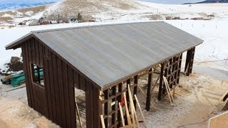 Building A Custom Horse Barn In Bozeman, Montana