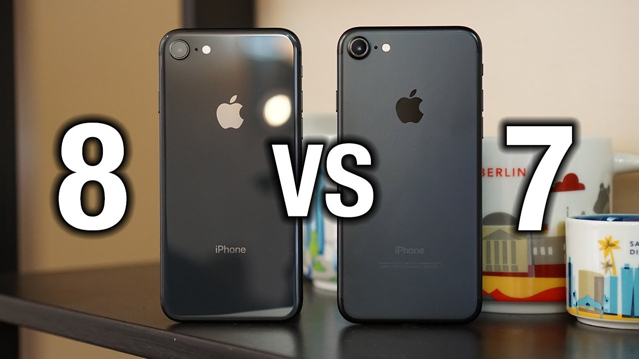 iPhone 8 vs iPhone 7 - Differences that matter? | Pocketnow