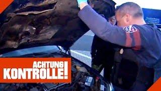Bettel-Mafia mit schrottreifem Auto! Was ergibt die Polizeikontrolle? | Achtung Kontrolle