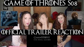 Game of Thrones Season 8 Official Trailer Reaction!!!