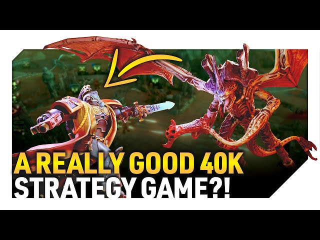 A REALLY GOOD 40K STRATEGY GAME!? | Warhammer 40K: Battlesector (Gameplay Preview)