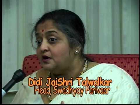 Ashok Interviews   Didi Jaishri Talwalkar
