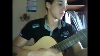Интересный Испанский бой на гитаре