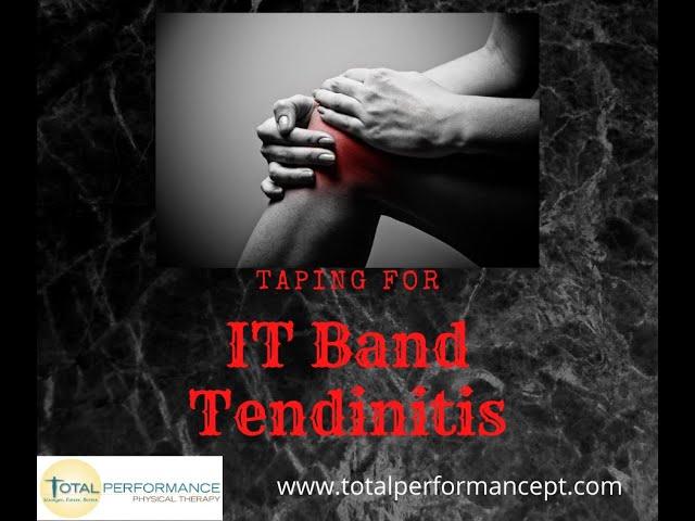 Taping for IT Band Tendinitis