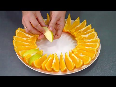 Нарезки фруктов на стол красивые в домашних условиях