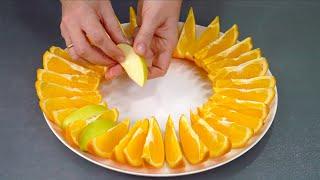 Красивая фруктовая нарезка на праздничный стол Сразу 5 способов, как красиво подать фрукты