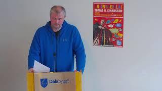 haldinn í stjórnsýsluhúsi Dalabyggðar fimmtudaginn 10. júní 2021.