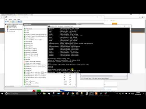 FIX: Error opening tftp server from cisco router - Windows