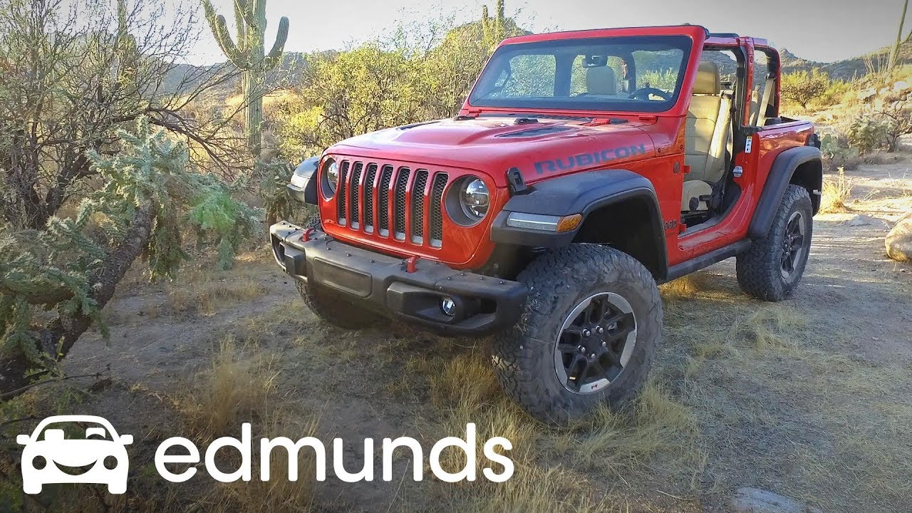 2018 jeep wrangler review test drive edmunds youtube. Black Bedroom Furniture Sets. Home Design Ideas