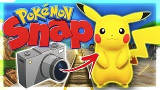 THE ORIGINAL POKEMON GO - POKEMON SNAP
