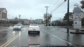 Flooding In Hyannis