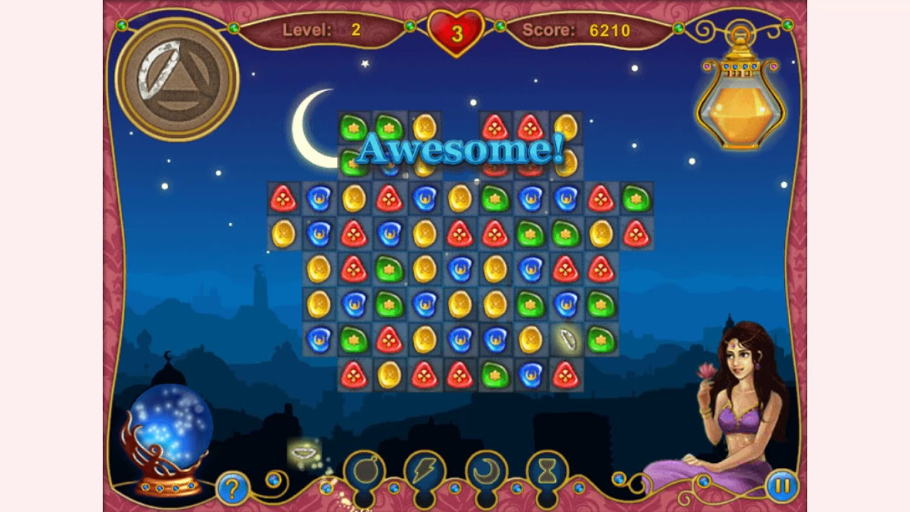 Play 1001 Arabian Nights 7 online on GamesGames
