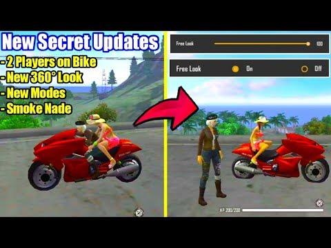 Secret Updates 2 Players On Bike & 360 Look🔥😲//UnGraduate Gamer