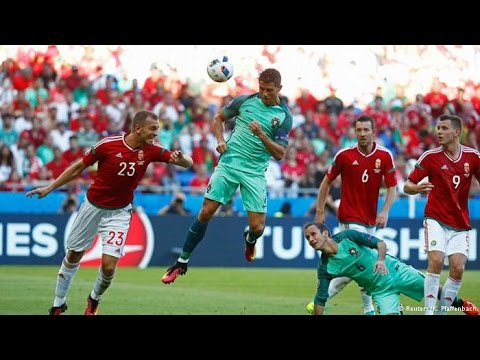 Portugal vs Hungary 3 3 Euro 2016 All Goals  Full Highlights HD