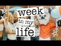 college week in my life: big little reveal & my birthday