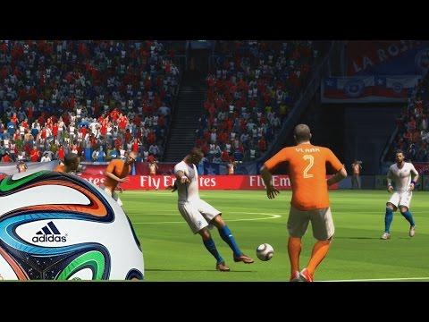 2014 Fifa World Cup - Chile Vs Holanda, Partido por la revancha, Un Robben Imparable - Xbox Gameplay