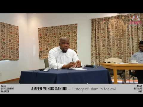 The History of Islam in Malawi by Sheikh Ameen Yunus Sanudi