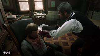 Red Dead Redemption 2 (PS4) - Doctor Amputates A Man's Arm