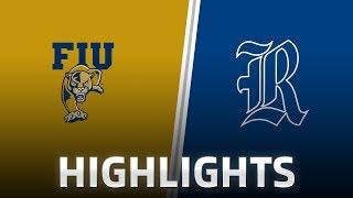 Highlights: FIU at Rice