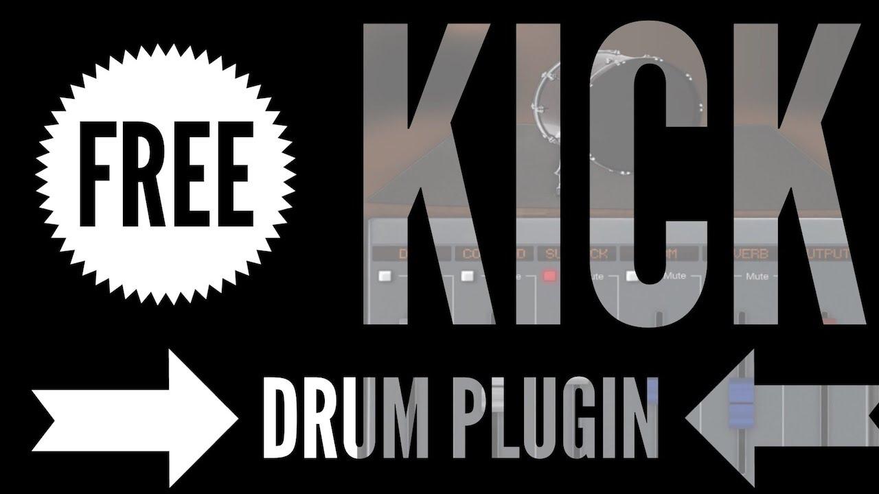 Free Dark VX KICK Drum Plugin AU VST First Look