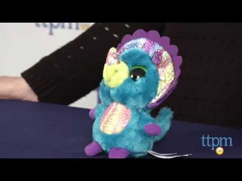 Yoohoo & Friends Marshmallow the Triceratops from Aurora