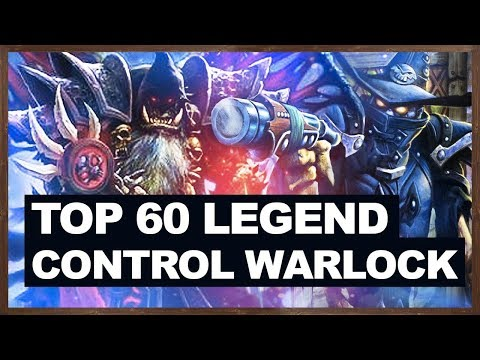 TOP 60 Legend - Control Warlock 2018 | The Witchwood Hearthstone