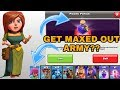 HOW TO USE POWER POTION (MAGICAL ITEM) IN CLASH OF CLANS??(GET A MAX OUT ARMY FOR ONE HOUR?)(COC)