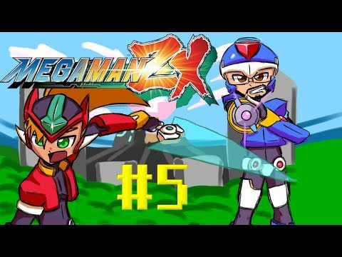 TALK TO US!!! | Mega Man ZX Part 05 | Phil and Pete play