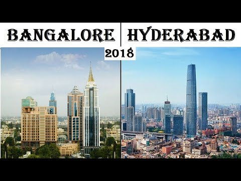 Bangalore vs Hyderabad Silicon valley of India vs Hitec city  Bengaluru city  vs Hyderabad city 2018