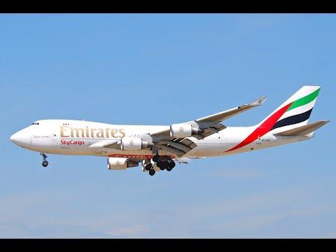 FSX (LIVE) VOO ENTRE DUBAI E DOHA (OMDB-OTHH) BOEING 747 400 EMIRATES SKY CARGO