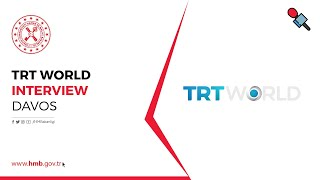 TRT World Interview with Berat Albayrak at Davos 2019