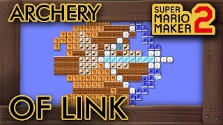 "Super Mario Maker 2 - Fun ""Archery of Link"" Level"