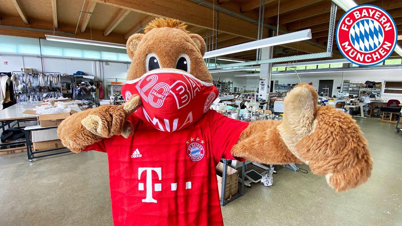 How FC Bayern's #WeKickCorona Masks were produced