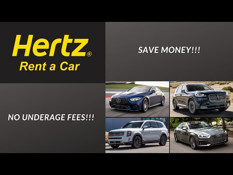 Cheapest Way To Rent A Car At 18 Years Old! (No Underage Fees)