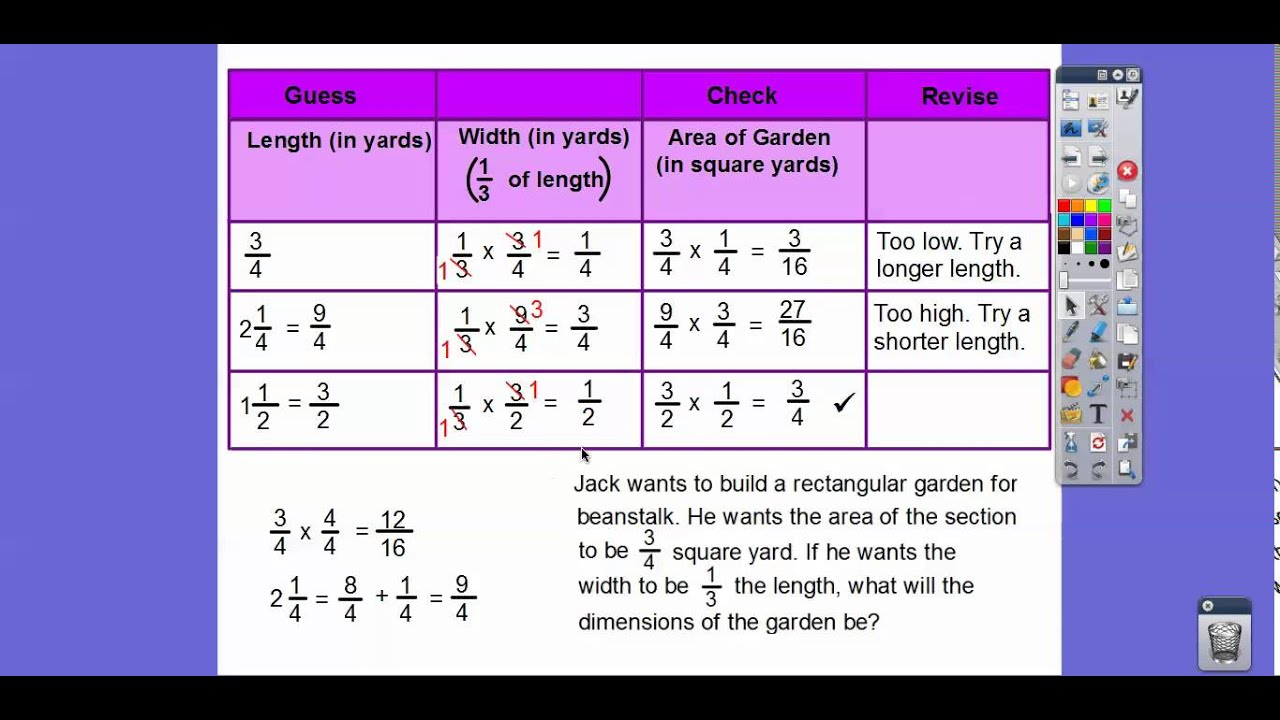 problem solving find unknown lengths lesson 7.10 homework
