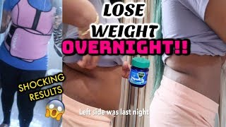 USE VAPOR RUB FOR WEIGHT LOSS? **SHOCKING RESULTS!!* 😱