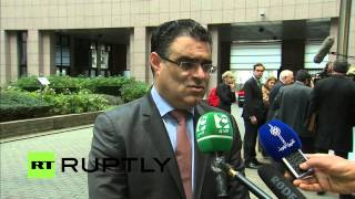 LIVE: EU Foreign Affairs Council to discuss Syrian crisis in Brussels - Arrivals