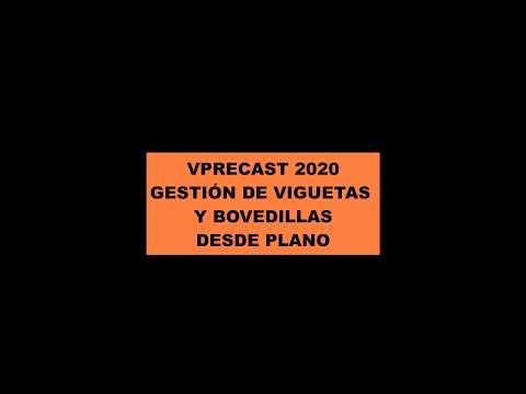 VPRECAST. Partes de Vigueta y Bovedilla