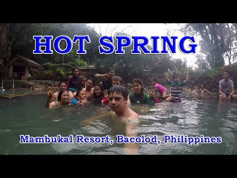 Hot Spring in the Rain - Mambukal Resort, Bacolod, Philippines