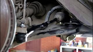 замена рулевых тяг и наконечников Nissan Qashqai, Dualis, X-Trail