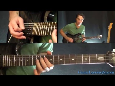 Killing in the Name Guitar Lesson  Rage Against the Machine